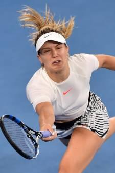 Bouchard treft schikking met US Open om valpartij