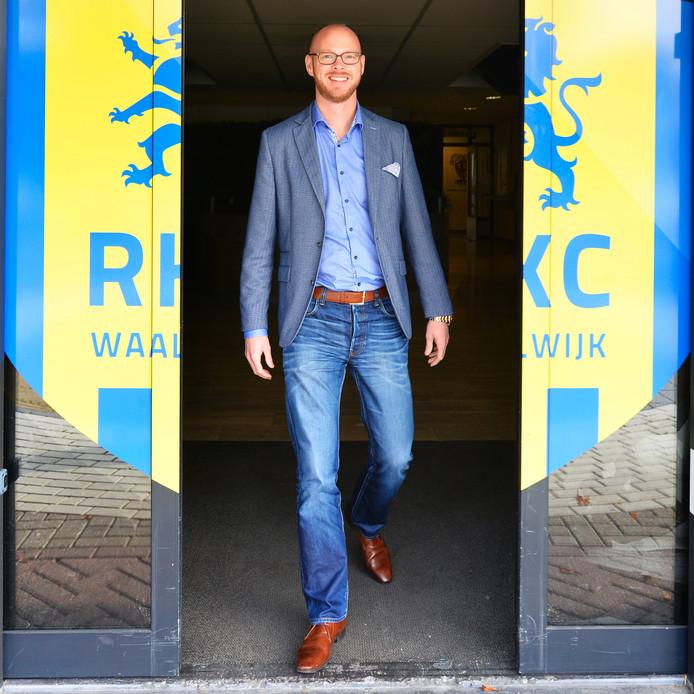 Directeur Remco Oversier richt zich op het redden van RKC Waalwijk.