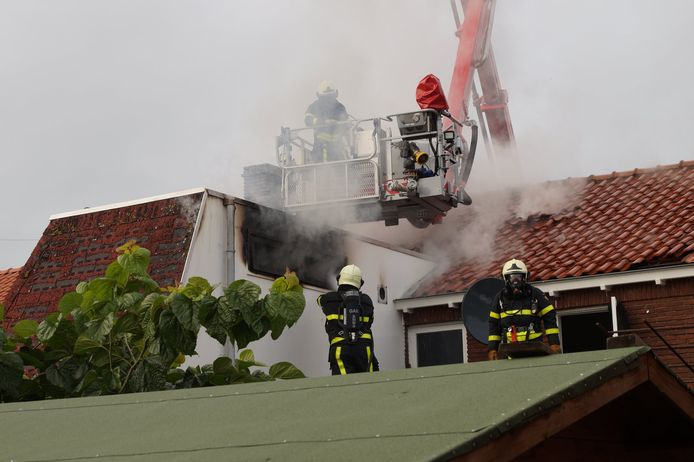 Woningbrand Waalwijk
