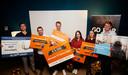 Naast Thomas Van der Wolde vielen ook masterstudenten van TU Delft in de prijzen.