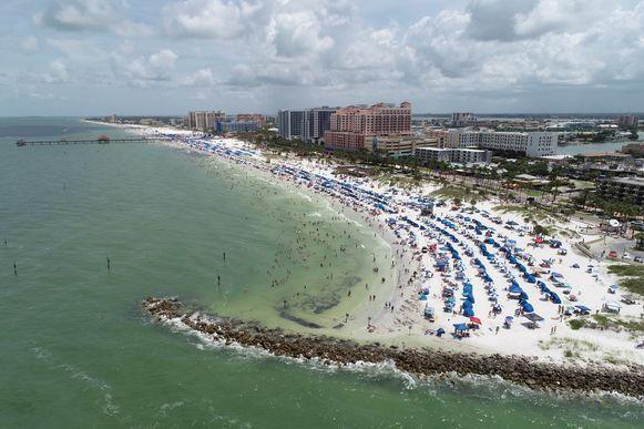 Clearwater Beach in Florida bleef wel open op de nationale feestdag.