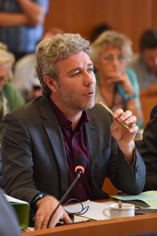 Alain Maron, député Ecolo visé par le courriel du Samusocial
