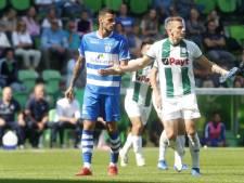 PEC Zwolle-spits Scamacca vindt het net in spectaculaire wedstrijd