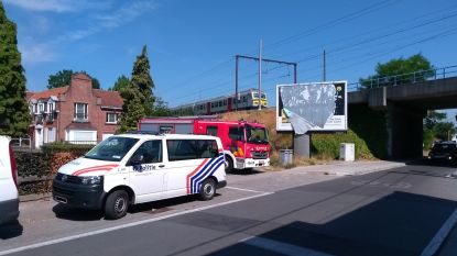 Persoon aangereden door trein in Merelbeke