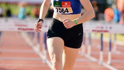 Elise Helsen Belgisch beloftenkampioene kogelstoten