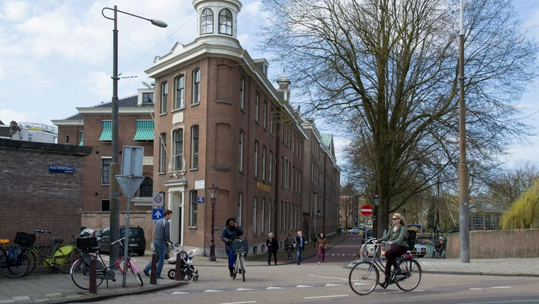 In De Wittenberg aan de Nieuwe Keizersgracht komt het nieuwe Luther Museum Amsterdam. Beeld Paul Nieuwenhuizen