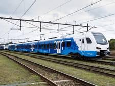 Eerste treinstellen Flirt aangekomen in Nederland