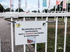 Sportpark Silvolde op slot, dorp in ban van het virus