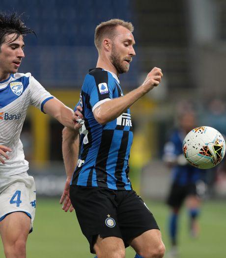 Internazionale haalt flink uit tegen Brescia, eerste goal voor Eriksen