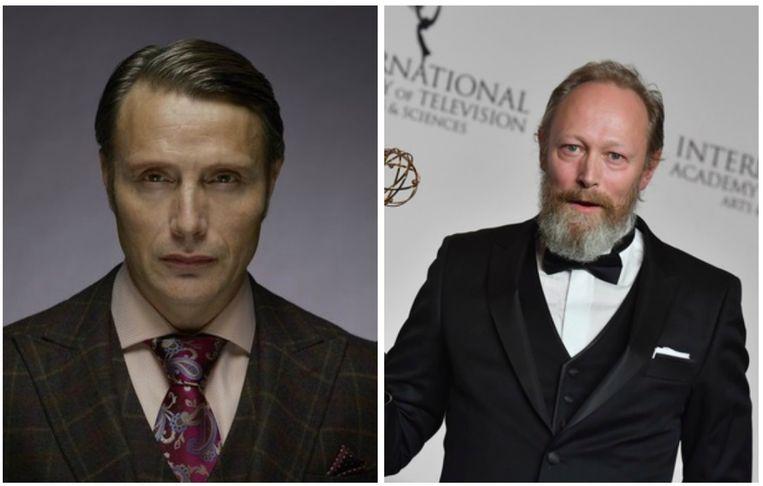 Mads (links) en Lars Mikkelsen.