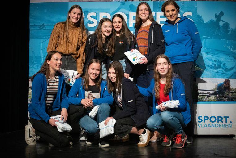 Kampioenenviering Kampioenen 2019 Lummen Volleybalclub Tamera Lummen - provinciaal kampioen U15 ereklasse