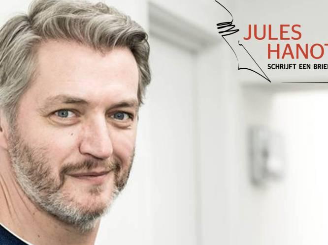 """Jules Hanot schrijft een brief aan Kürt Rogiers:  """"Zelfs thuis achtervolgde je me als blote 'posterboy' op de kamerdeur van mijn dochter"""""""