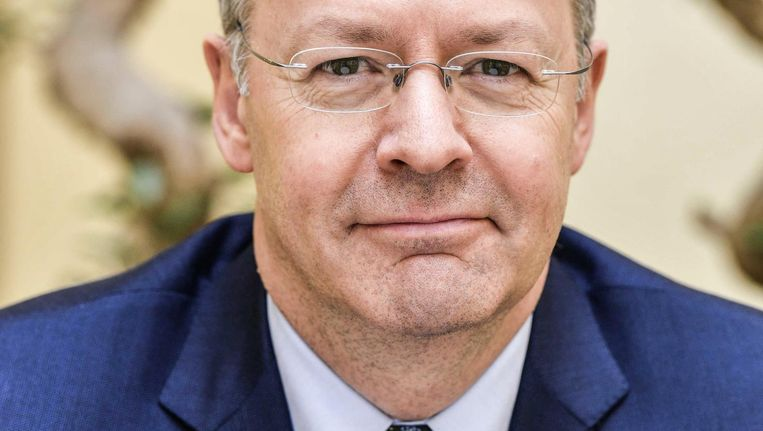 Thierry Vanlancker, de nieuwe topman van AkzoNobel. 'We moeten nu vooral plezier hebben in ons werk' Beeld ANP Handouts