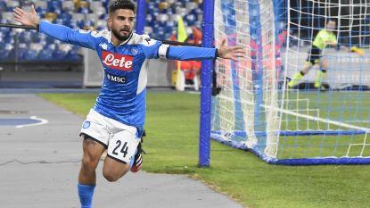 Insigne leidt Napoli naar halve finale Coppa Italia na knotsgek duel tegen Lazio