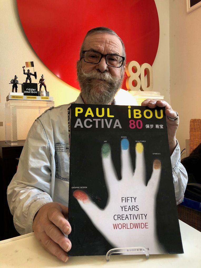 Ibou is momenteel bezig aan zijn lijvig kunstboek over zijn 65 jaar creatieve activiteit als multi-artist.