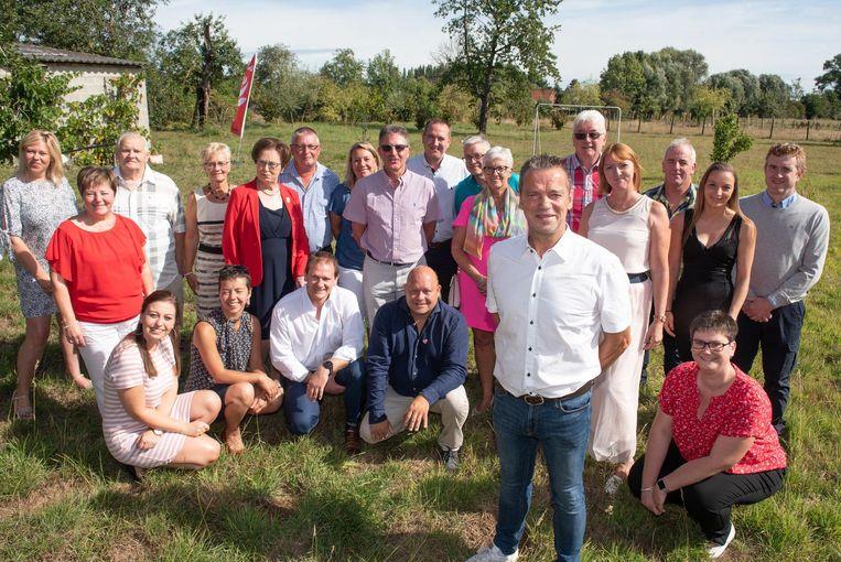 Met deze kandidaten trekt de sp.a van Brakel in oktober naar de gemeenteraadsverkiezingen.
