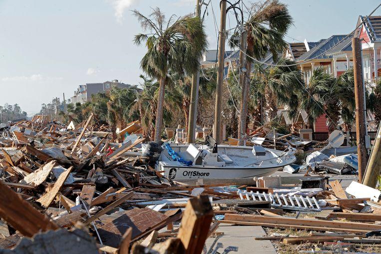 Orkaan Michael richtte vorig jaar zware schade aan in Florida.