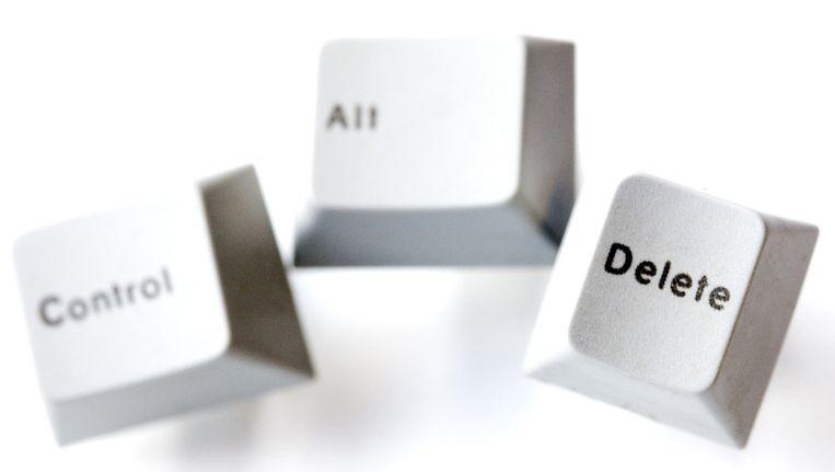 Control alt delete Beeld ANP