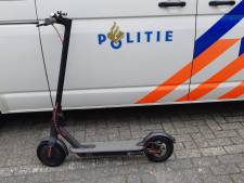 Politie neemt elektrische step in beslag in Vught: 'Voertuig' mag niet op openbare weg