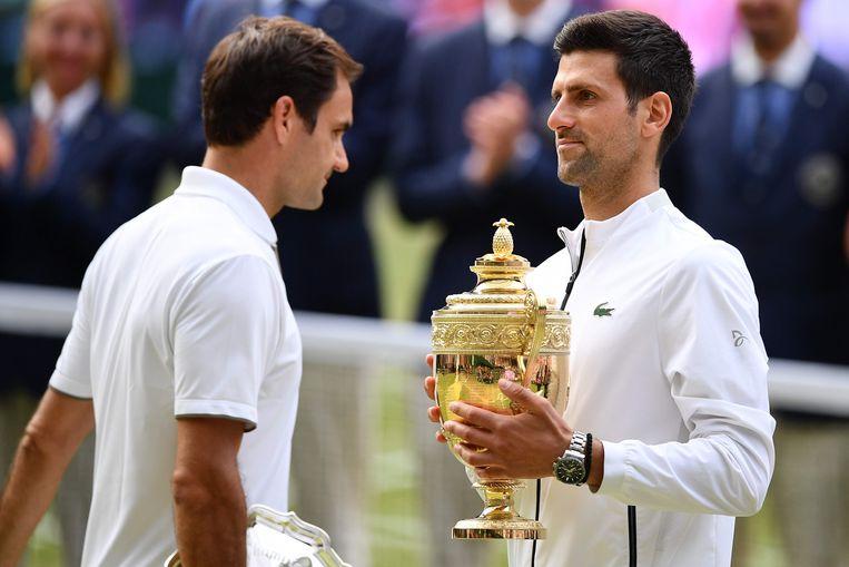 Novak Djokovic won vorig jaar het mannentoernooi in Londen.
