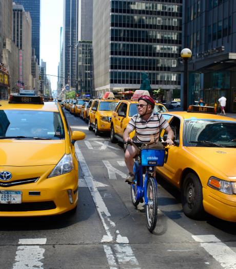 Fietsen in New York: voor je het weet lig je op straat