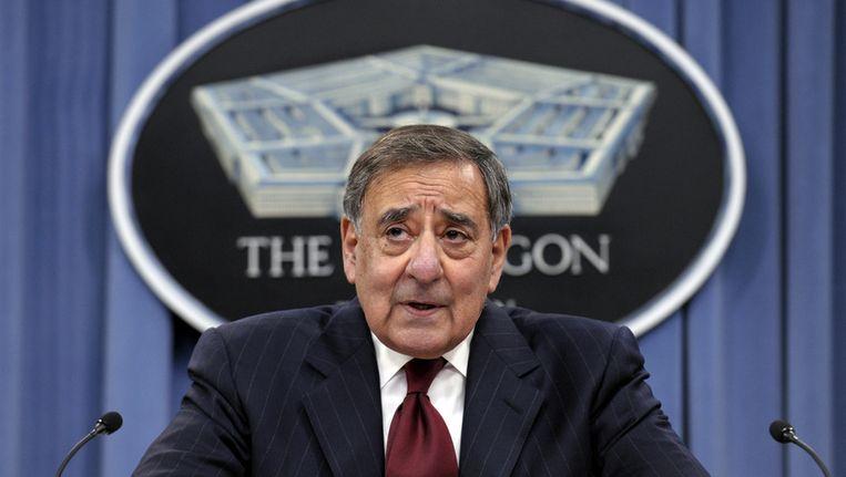 Minister van Defensie Leon Panetta. Beeld ap