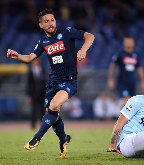 Mertens opnieuw goud waard voor Napoli bij zege op Lazio