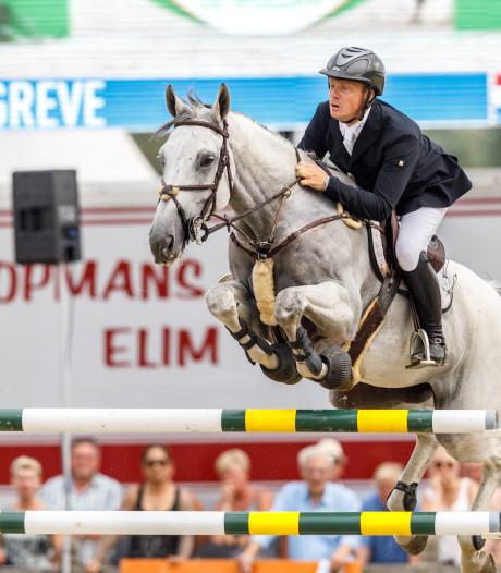 Markelose springruiter Greve scoort opnieuw met jong paard