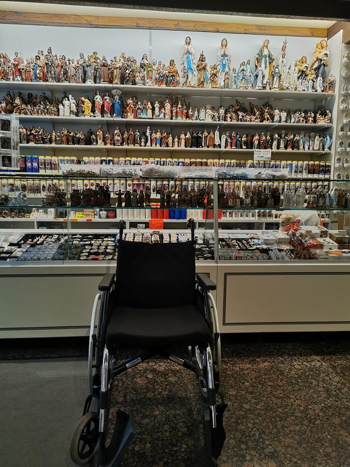 De rolstoel