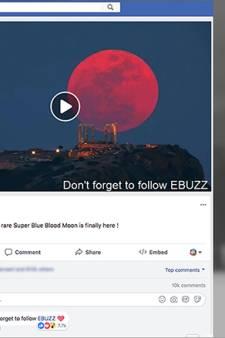 Nepvideo van 'supermaan' 16 miljoen keer bekeken