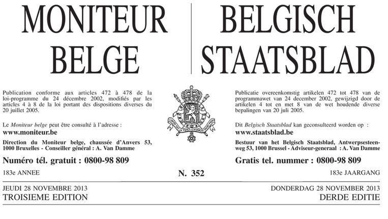 In totaal verschenen al meer dan 1,7 miljoen pagina's Staatsblad sinds België bestaat.