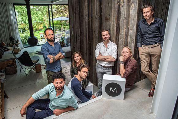 Het team achter Motel Moteur.