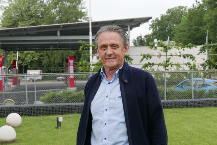 """Clemens van Hulten: ,,We stellen ook voor om een groenstrook rond het zonnepanelenparkje aan te leggen, als beschutting voor klein wild""""."""