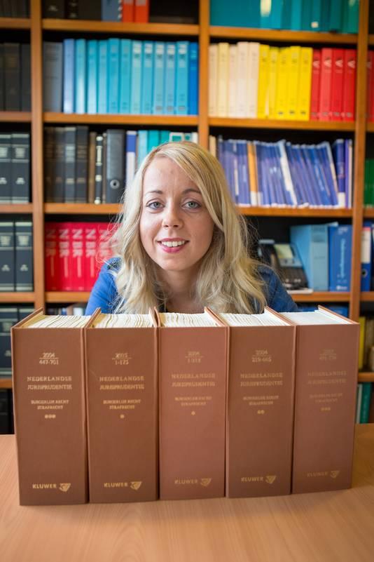 Lesley Albers wil een rechtswinkel beginnen in Berg en Dal.