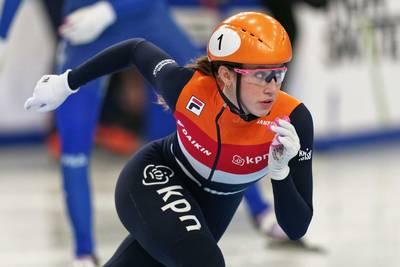 Schulting prolongeert met overmacht Europese shorttracktitel op 1500 meter