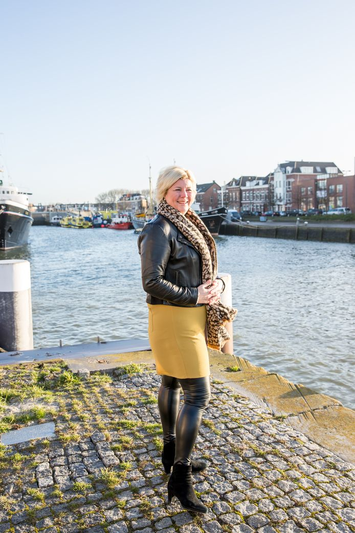 Wendy Hofman, citymarketeer in Maassluis.