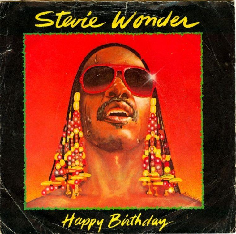 Stevie Wonders  Happy Birthday was bedoeld als pleidooi om van de geboortedag van mensenrechtenactivist Martin Luther King een nationale feestdag te maken.  Beeld