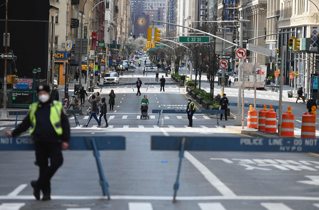 Park Avenue in New York City. Beeld AFP