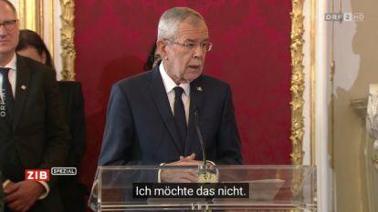 Ondertitels telenovelle zorgen voor hilarische eedaflegging Oostenrijkse regering