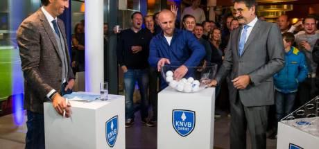 Loting tweede ronde KNVB beker voor onbepaalde tijd uitgesteld; Hoop voor UNA?