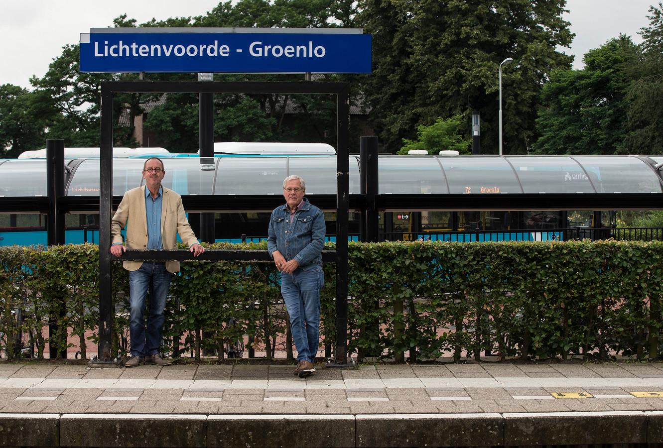Twee raadsleden vinden Oost Gelre als nieuwe naam voor het station in Lievelde beter.