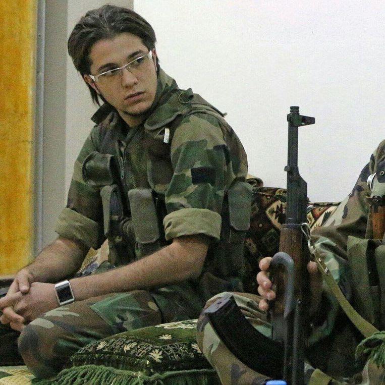 Ahmed Akidi, VSL-strijder. Beeld Privéarchief