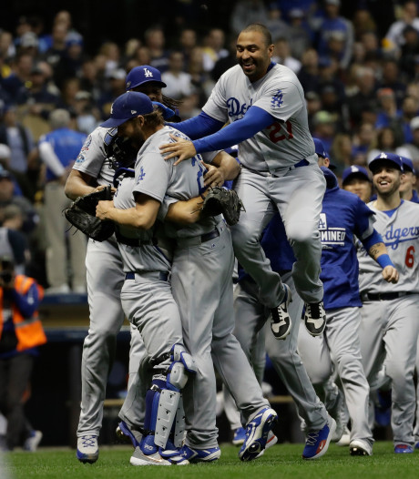 LA Dodgers zijn tegenstander van Boston Red Sox in finale World Series