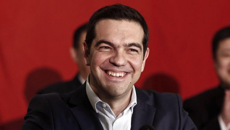 De Griekse premier Tsipras mag opgelucht zijn: het steunprogramma voor zijn land wordt met vier maanden verlengd.