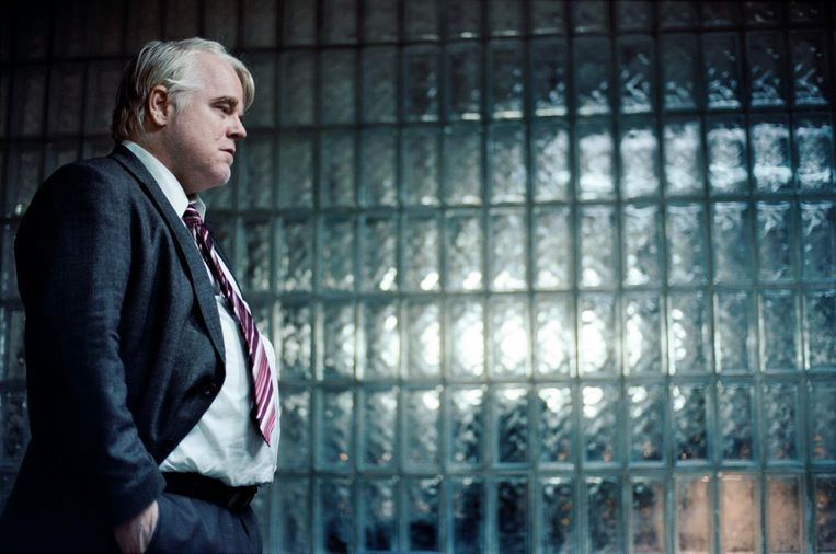 Philip Seymour Hoffman in A Most Wanted Man. Beeld