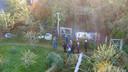Leden van de rechtbank nemen zelf een kijkje bij de boerderij in Ruinerwold.