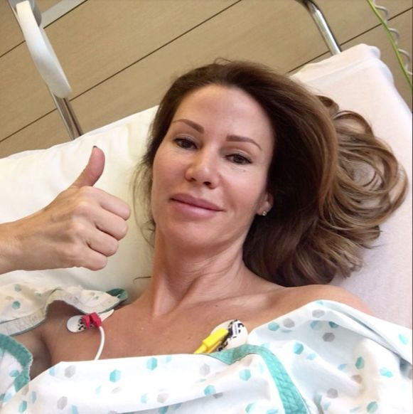 Phaedra Hoste moest hartoperatie ondergaan (foto Instagram)