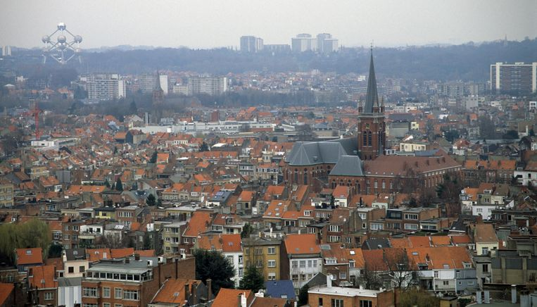 Zicht over Brussel