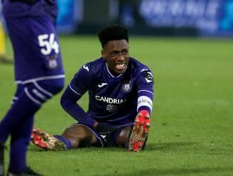 Anderlecht moet Sambi Lokonga zeker missen tegen Eupen, blessure wel minder erg dan gevreesd