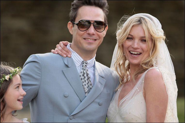 Kate Moss huwde in 2011 met Jamie Hince